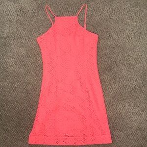 Lilly Pulitzer Dresses - Lilly Pulitzer coral dress size XS NWOT